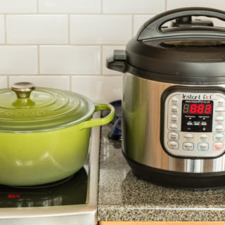 Comparison – Stove Top versus Instant Pot Lamb Ragout