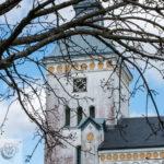 Another view of Trollenäs kyrka in Eslöv, Sweden.