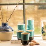 Ceramics made at Ateljé Råbygård.