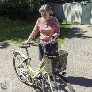 Eva's new Crescent Sunnan bike.