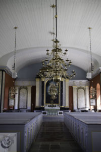 Inside view of Jamhogs Church.