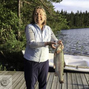 Eva's Rainbow trout.