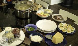 Swedish Midsummer Lunch.
