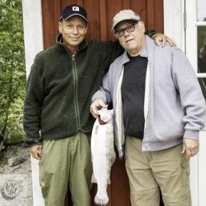 Ron's Rainbow trout w/Benny