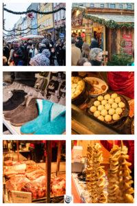 Images of Nyhavn Christmas market.