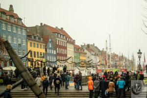Nyhavn at Christmas.