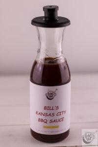 Bill's BBQ sauce.