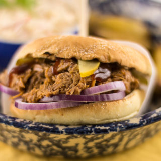 Bill's Kansas City pulled pork…a cross Atlantic challenge…
