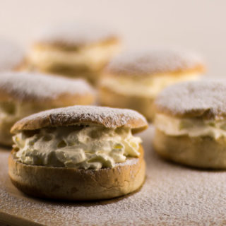 Semlor…the Swedish bun that killed a King.